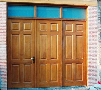 Puertas de entrada de madera en barcelona - Puertas madera barcelona ...